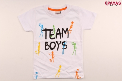 3/7  Y TEAM BOYS  BASKILI ERKEK T-SHIRT
