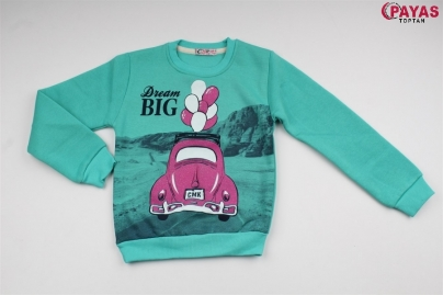 8/12 Y BIG DREAM BALONLU KIZ SWEAT