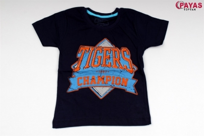 8/12 Y TIGERS CHAMPION BASKILI T-SHORT
