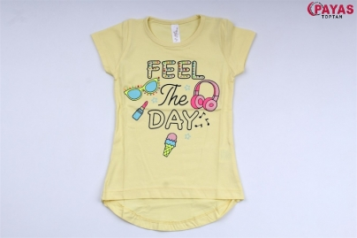 1/4 Y FEEL  BASKILI KIZ T-SHIRT