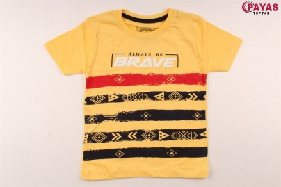 3/7 Y ALWAYS BRAVE  BASKILI T-SHIRT