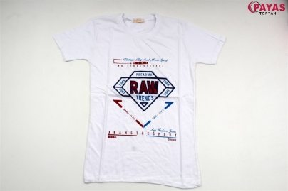 8/12 Y RAW  BASKILI T-SHIRT