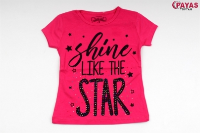 3/7 Y SHINE LIKE THE STAR BASKILI T-SHIRT