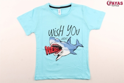 5/8 Y WISH YOU BALIK BASKILI T-SHIRT